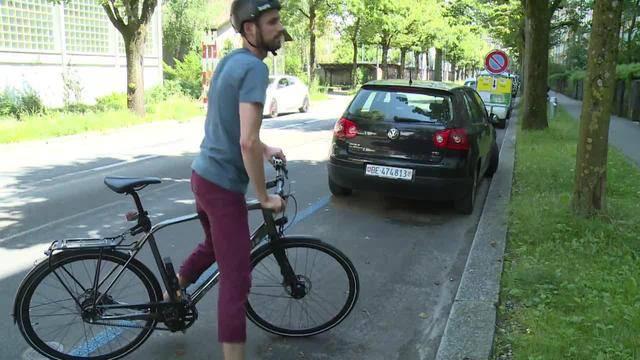 Fahrradweg statt Parkplatz