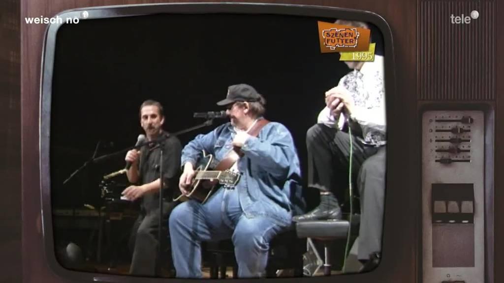 Country-Star John Brack mit Che & Ray auf der Bühne