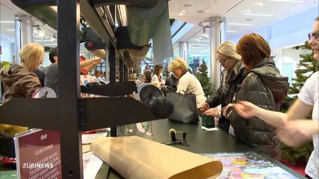 Weihnachtschaos im Glattzentrum