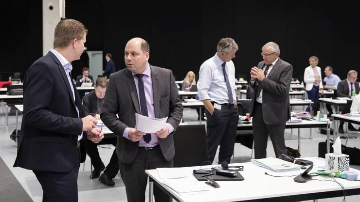 Die SVP-Fraktion stimmte gegen die Wahl von Alberto Faddri als neuen Bundesstrafrichter