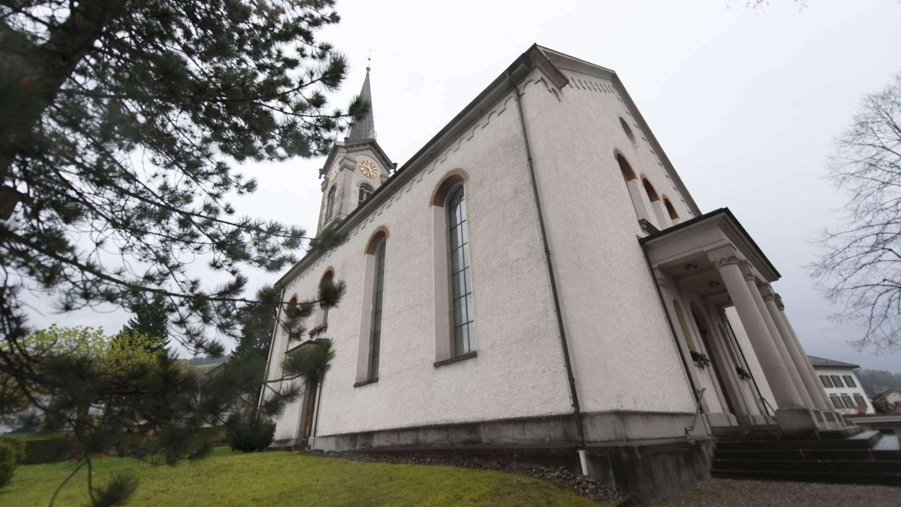 Ebnat-Kappel - Kirche Kappel