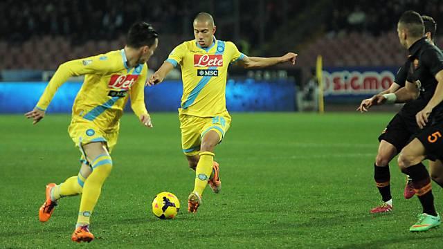 Gökhan Inler spielte bei Napoli durch und steht im Cupfinal
