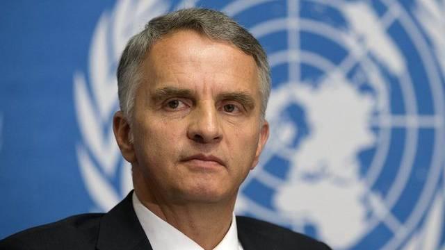 Kampf gegen Landminen: Bundesrat Didier Burkhalter