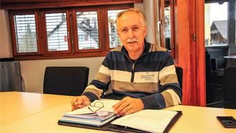 Heinz Pfister, Gemeindeammann von Arni, will den Informationsfluss vom Kanton in die Region merklich verbessern. Toni Widmer