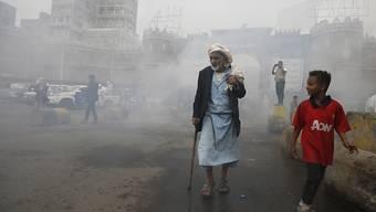Für Jemen sind über eine Milliarde Dollar an Hilfsgelder zusammengekommen. (Archivbild)