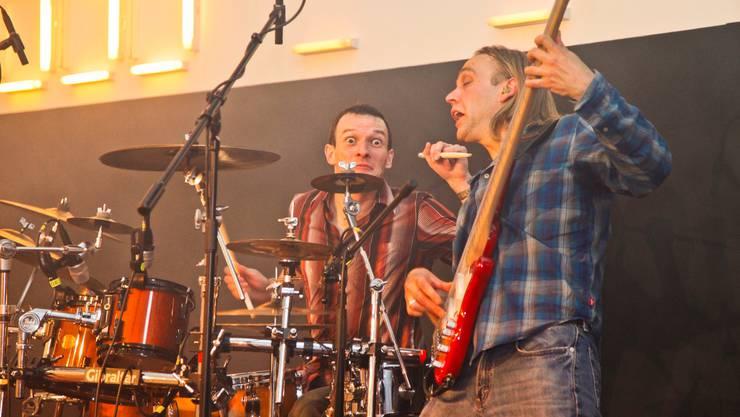 Groovepack musizieren mit viel Vergnügen. Lucas Huber