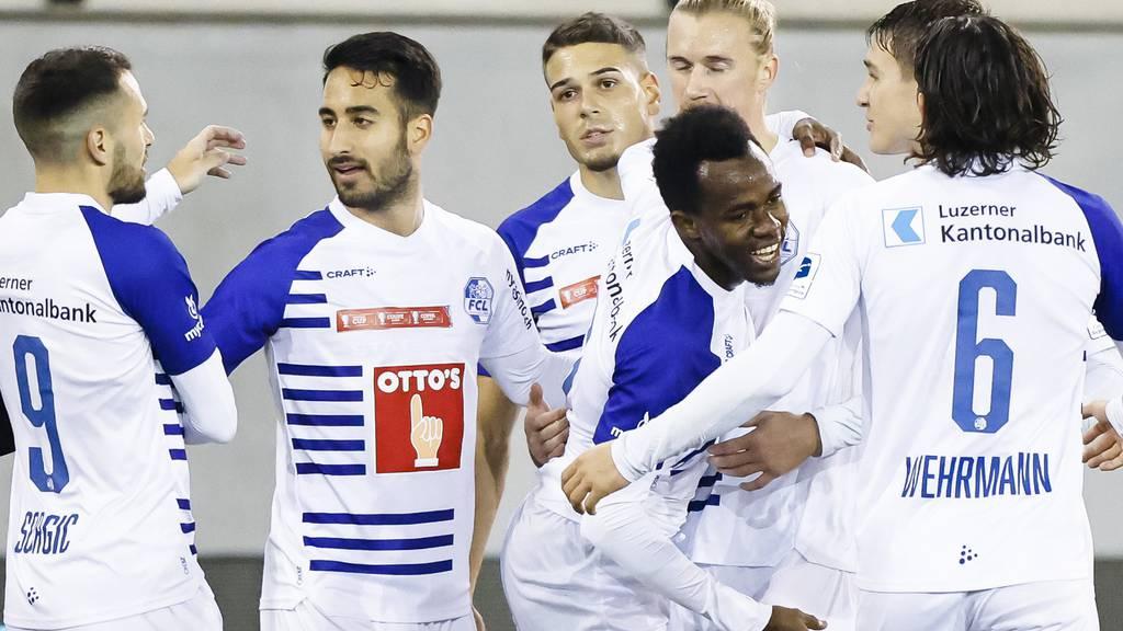 Der FCL gewinnt gegen Schaffhausen 2:0