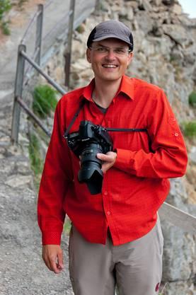 Ohne seine Kamera geht Peter Böhi nicht in die Berge
