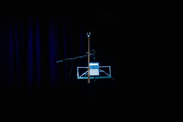 Gägäwart Mundartnacht 2019 im Kofmehl, im Bild: Dominic Oppliger