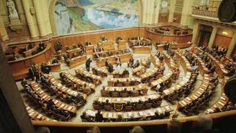 Blick in den Nationalratssaal: Die SVP bleibt die grösste Fraktion der neuen Bundesversammlung