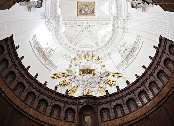 Abschluss der Renovationsartbeiten St Ursen-Kathedrale Solothurn