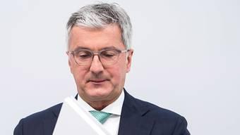 Vorübergehend in Haft: Der VW-Audi-Chef Rupert Stadler ist wegen der Dieselaffäre vorübergehend verhaftet worden. (Archiv)