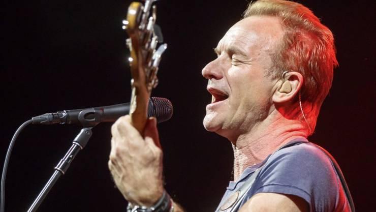 Oft und gerne in der Schweiz: Der britische Musiker Sting. (Archivbild)