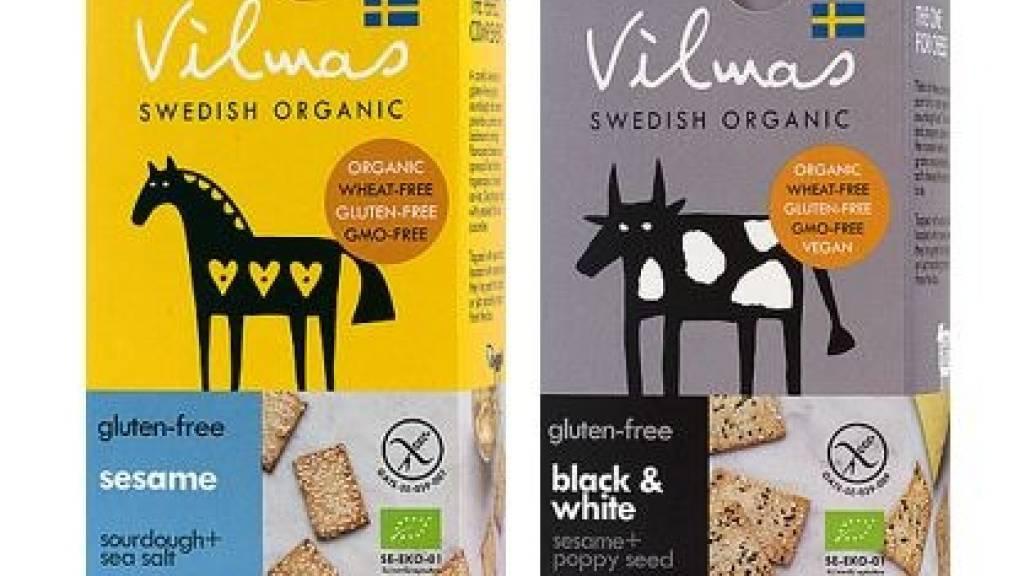 Globus ruft die Produkte «Vilmas Bio Knäckebrot Cracker Sesame» und «Vilmas Bio Knäckebrot Cracker Black & White» zurück. Sie enthalten zu viel Pflanzenschutzmittel und können die Gesundheit gefährden.