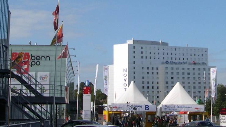 Die betroffenen Hotels befinden sich beim Messe- und Austellungsgelände Bernexpo.