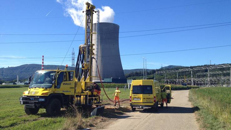 Im Aarefeld wurden Pumpversuche durchgeführt.