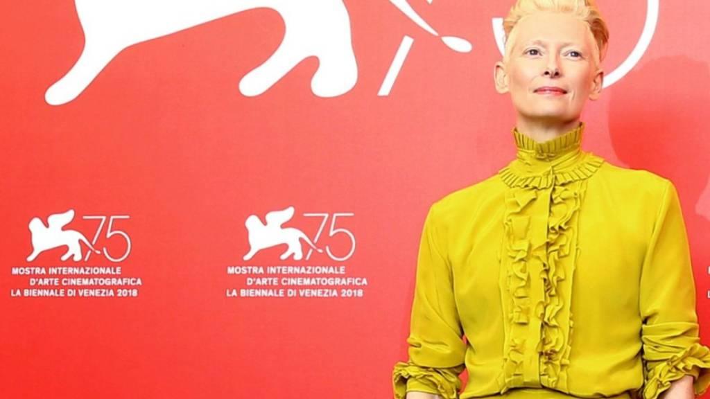 Venedig vergibt Goldene Löwen an Tilda Swinton und Ann Hui