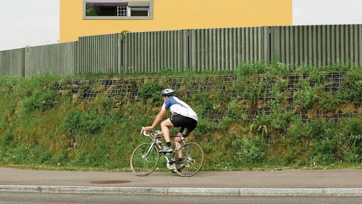 Lärmschutzwände zählen zu den gängigsten Massnahmen gegen Strassenlärm. Effizienter wäre aber Tempo 30.