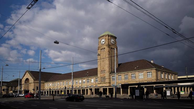 Der Badische Bahnhof in Basel