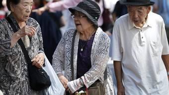 Die Überalterung der japanischen Gesellschaft schreitet fort: 28,1 Prozent der Gesamtbevölkerung sind 65 Jahre alt oder älter. (Symbolbild)