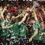 Meisterjubel vor drei Monaten: In der neuen Meisterschaft ist Wacker Thun gefordert, wenn es seinen Pokal behalten will