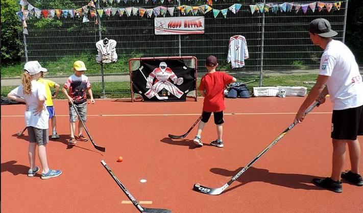 Hockey spielen in Bettlach