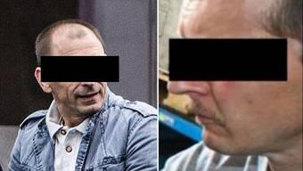 Die beiden Angeklagten Zeljko J. und Daniel G.