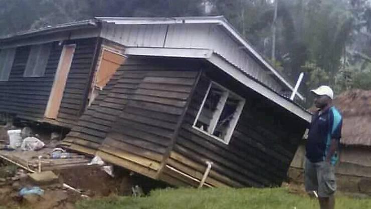 Bereits Ende Februar richtete ein starkes Erdbeben auf Papua-Neuguinea schwere Schäden an. Gegen 50 Menschen kamen ums Leben. (Archivbild)
