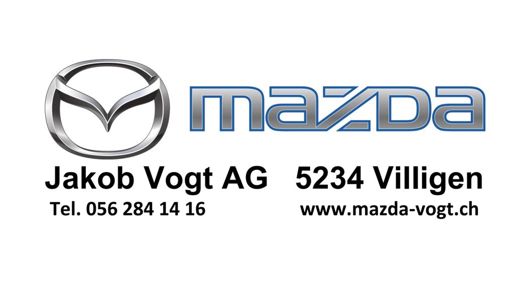 Argovia Mittagsshow wird präsentiert von der Mazda Garage J. Vogt AG