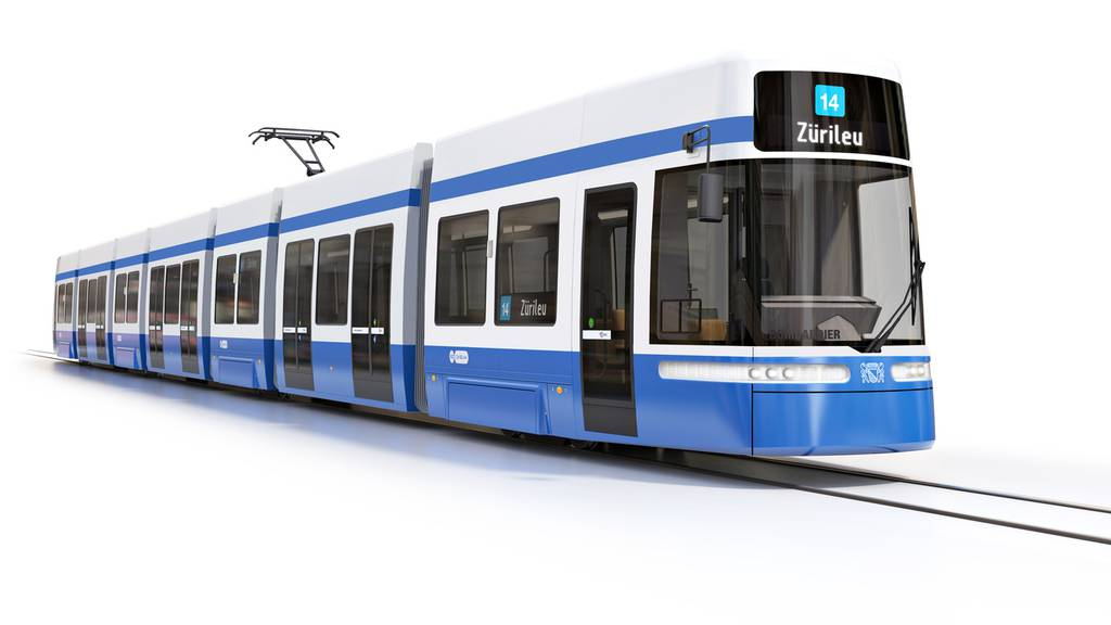 «Flexity»: Das erste neue Tram ist da