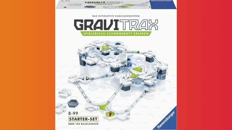 Wunsch-Nr. 42, Rayan, 7 Jahre, Ravensburger GraviTrax Starterset, Digitec / Galaxus, CHF 50.00