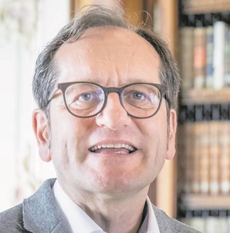 Cornel Dora, Stiftsbibliothekar Stiftsbezirk St.Gallen.