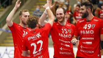 HSC Suhr Aarau empfängt Wacker Thun in der 3. Runde der NLA-Saison