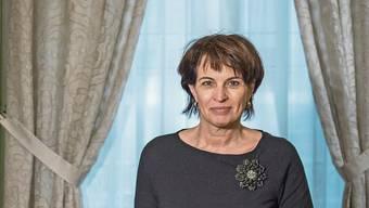 Nach zwölfeinhalb Jahren in der Landesregierung ist Schluss: Noch-Bundesrätin Doris Leuthard in ihrem Büro in Bern