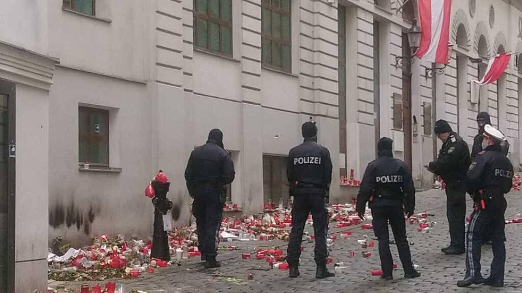 DNA auf Tatwaffe - zwei weitere Festnahmen nach Anschlag in Wien