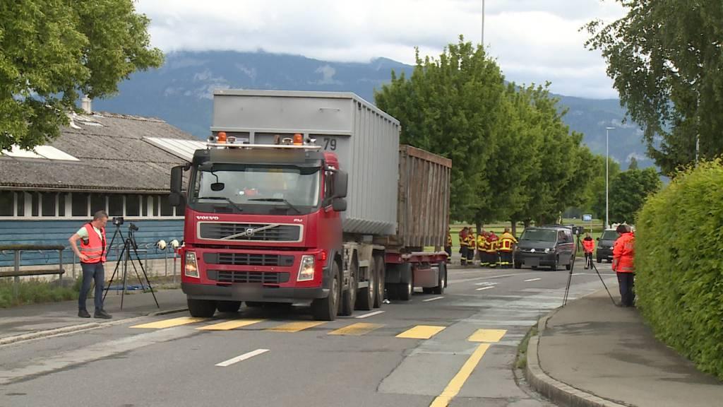 Altstätten (SG): Fussgänger stirbt nach Kollision mit Lastwagen
