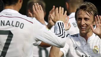 Real Madrid gewinnt auch sein zweites Spiel (Archivbild).