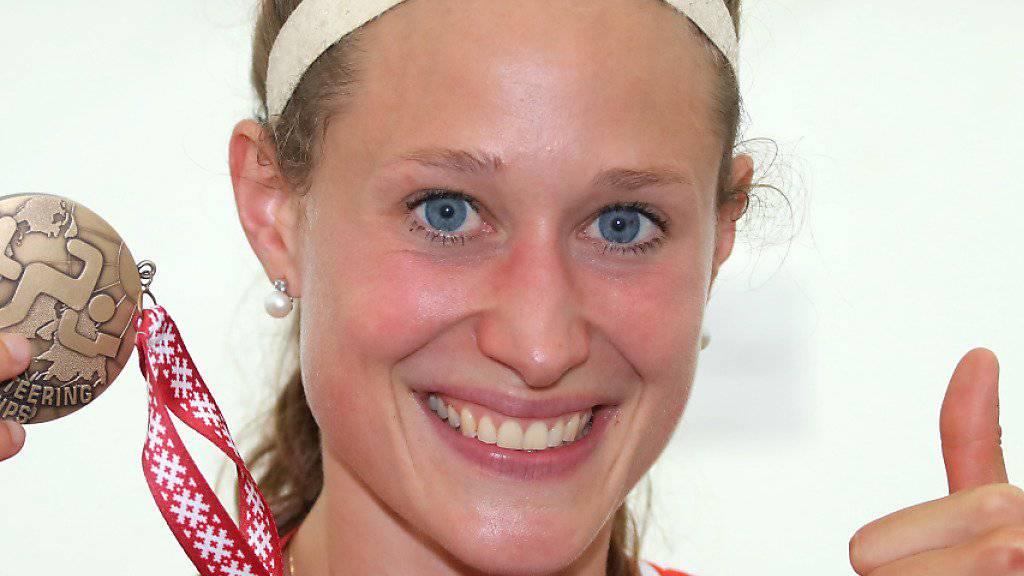 Judith Wyder zeigte sich 2018 mit je drei WM- und EM-Medaillen sehr erfolgreich