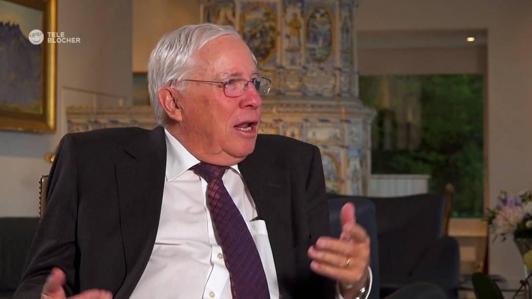 Christoph Blocher über Aargauer SVP-Führung: «Hoffnungslos – fragt sich, ob das die Regierungsrätin ist oder sie selber»