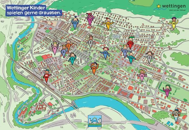 In jedem Quartier gibt es mindestens einen Kinderspielplatz.