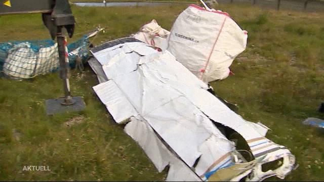 Jugendlicher steuerte Unfall-Flugzeug von Pontresina