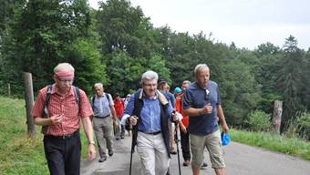 Die zweitletzte Etappe des Leserwanderns führte von Wettingen nach Killwangen.