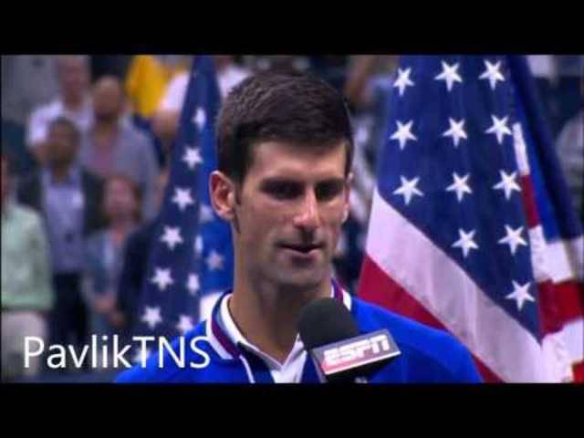 Standing Ovations für die Tennis-Stars an der US-Open-Siegerehrung
