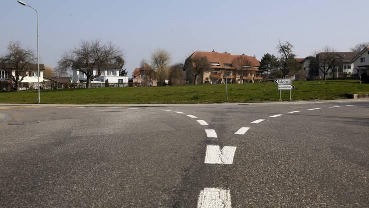 Wohin des Weges? Das ist im Dorfzentrum von Horriwil nicht so ganz klar.