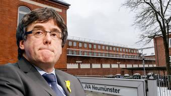 Carles Puigdemont muss über Ostern in der JVA Neumünster bleiben.