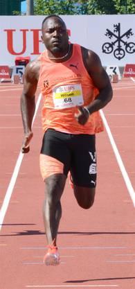 200-m-Rekord von Alex Wilson.