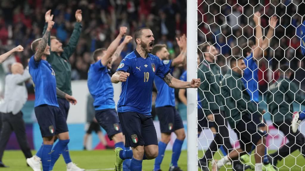 Der EM-Titel geht an Italien – England verliert das Penaltyschiessen