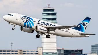 Ein Airbus A320 der Egyptair. (Archivbild)