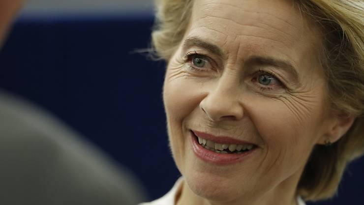 Ursula von der Leyen ist am Ziel.
