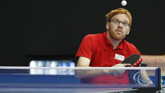Auch der Fricktaler Silvio Keller spielt an der Tischtennis-EM.
